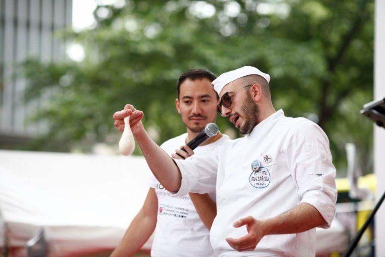 Eventi & Fiere Show cooking del Centro della Mozzarella a Tokyo