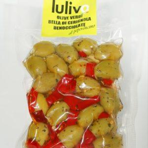 Olive denocciolate condite (200 gr)