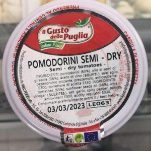 Pomodorini semi – dry