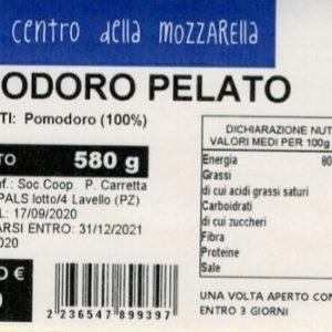 Pomodoro pelato vaso (580 gr)