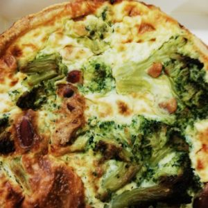 Quiche broccoli e mandorle