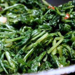 Cicorie ripassate aglio e olio